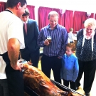 Hog Roast for christening in Tarporley